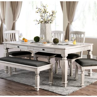 Tomas 6 Piece Dining Set Ophelia & Co.