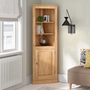 Burleson Corner Display Cabinet By Alpen Home
