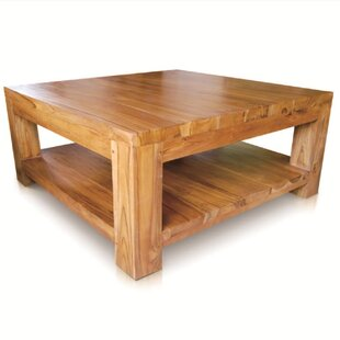 Caramia Coffee Table with Magazine Rack by NES Furniture