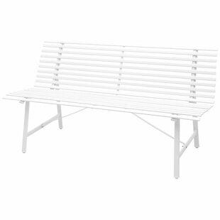 Raheem Steel Bench By Sol 72 Outdoor
