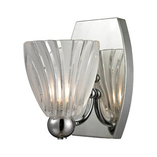 Milone 1-Light Bath Sconce by Ebern Designs