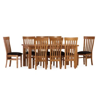 Rebekah Dining Set With 8 Chairs By August Grove
