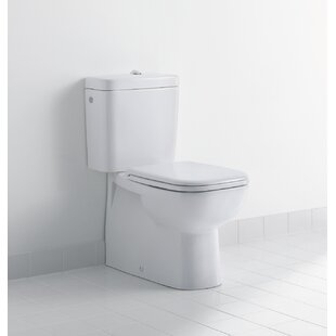 Duravit D-Code Dual-Flush Elongated Toilet Bowl (Seat Not Included)