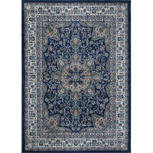 Tremont Blue Area Rug