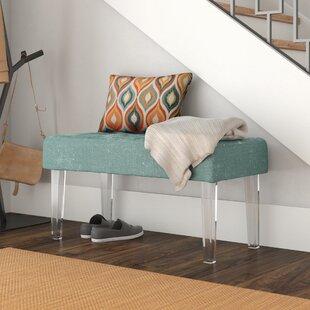 Wrought Studio Bronson Upholstered Bench