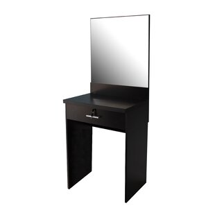 Cortes Dressing Table With Mirror By Ebern Designs
