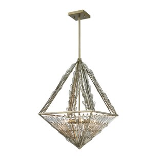 Rosdorf Park Gillian 6-Light Bowl Pendant