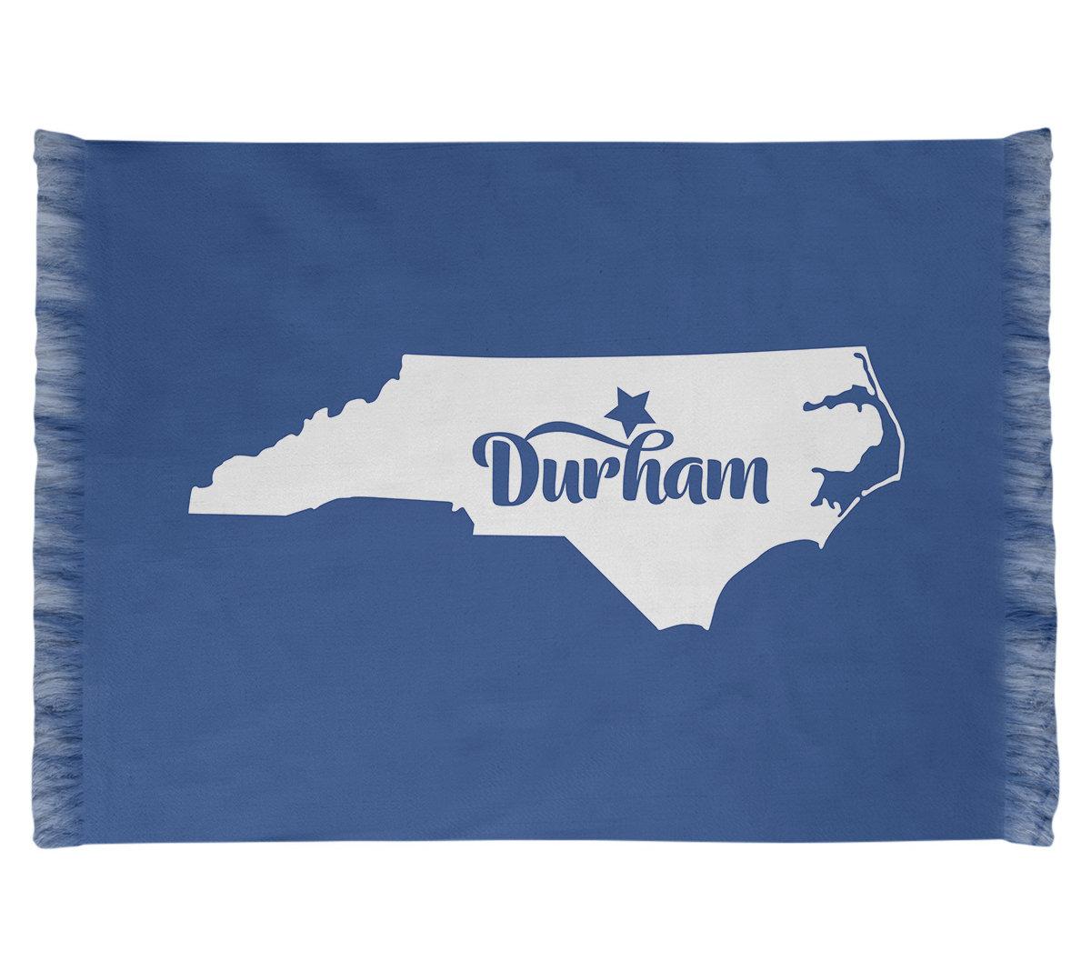East Urban Home North Carolina Sports Blue Off White Area Rug Wayfair