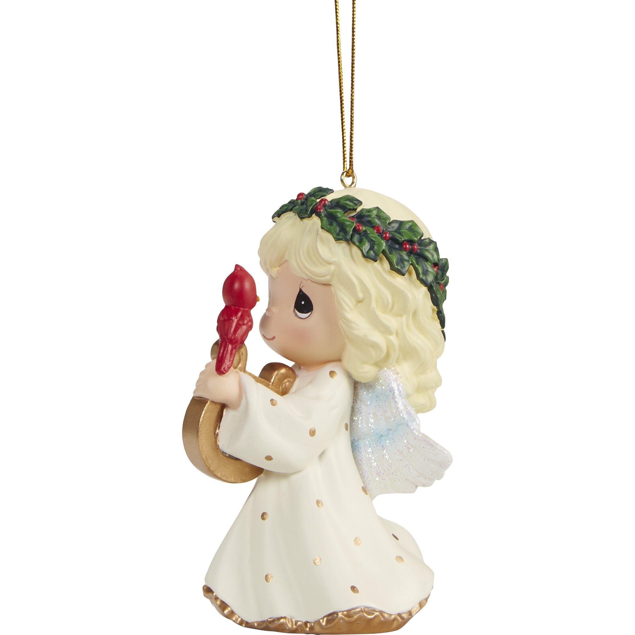 Precious Moments Let Heaven And Nature Sing Resin Hanging Figurine Ornament Wayfair