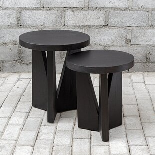 Lisanti Pedestal Nesting Tables by Orren Ellis