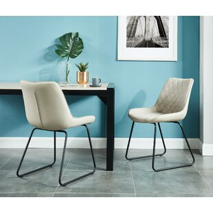 Gering Upholstered Dining Chair (Set of 2) Ivy Bronx