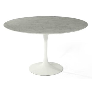 larkson carrara marble dining table - Marble Dining Table