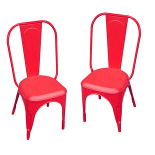 Leigh Classique Stacking Patio Dining Chair (Set of 2)