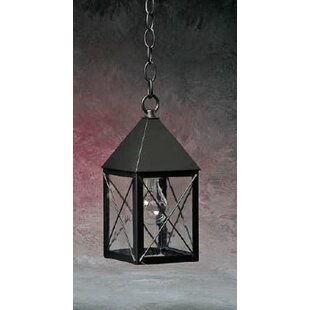 Read Reviews Michaela 1-Light Outdoor Hanging Lantern By Longshore Tides