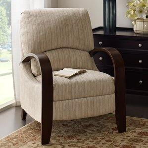 Cobleskill Bent Manual Recliner & Recliner With Wood Arms | Wayfair islam-shia.org