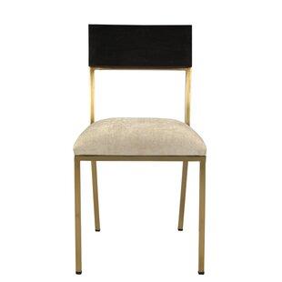 Brayden Studio Ashby Upholstered Dining Chair (Set of 2)