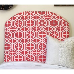 Houchens Arched Twin/Twin XL Upholstered Panel Headboard by Zoomie Kids