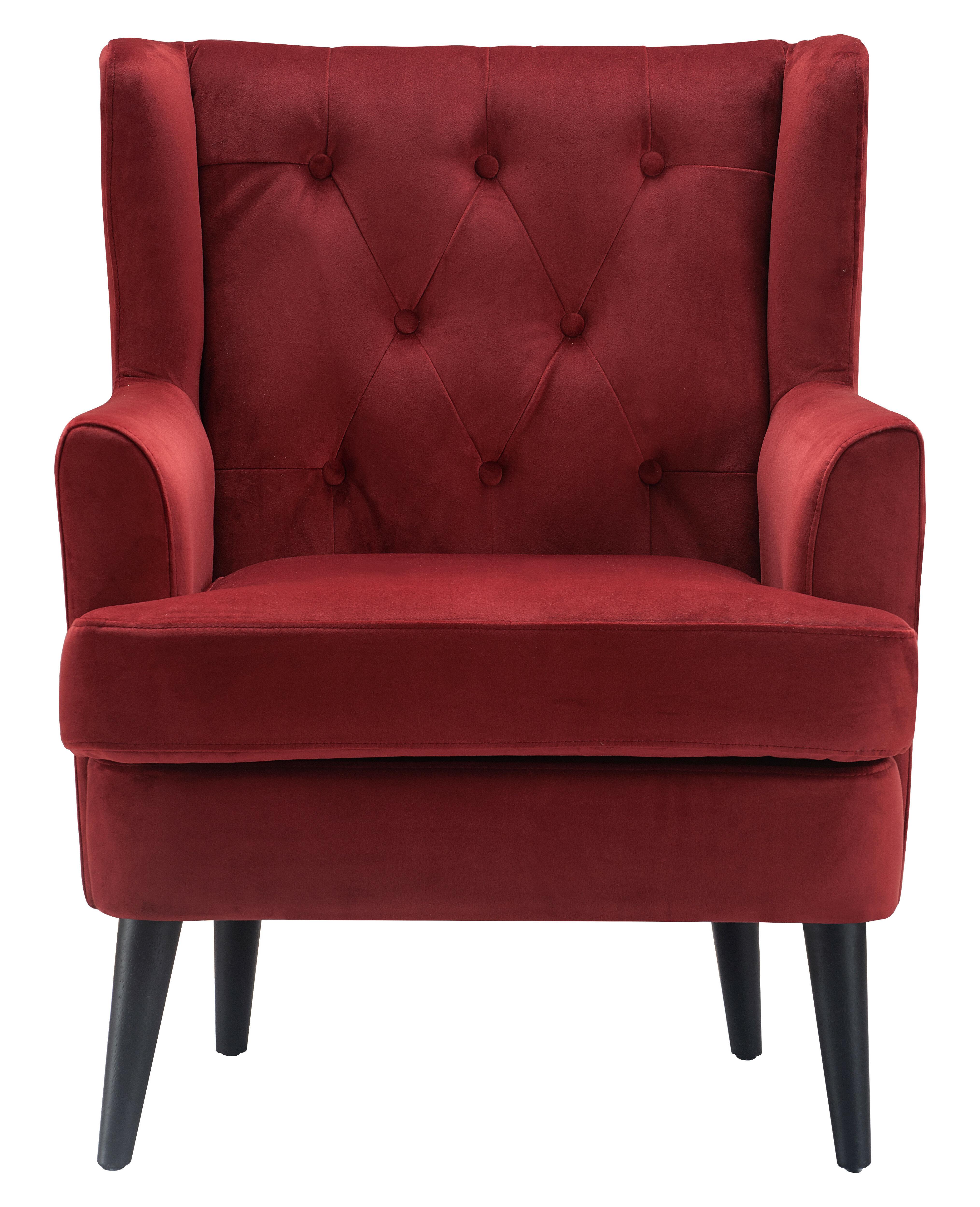 Elle Decor Celeste Wingback Chair