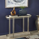 Vela 42 Console Table by Everly Quinn