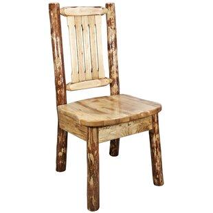 Loon Peak Tustin Woodworks® Tungsten Kitchen Side Chair