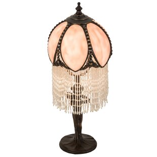 Nordquist Fringed 16 Table Lamp