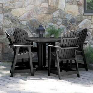 Deerpark 5 Piece Bar Height Dining Set by Longshore Tides Best Choices