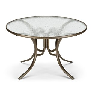 Obscure Acrylic Round Dining Table