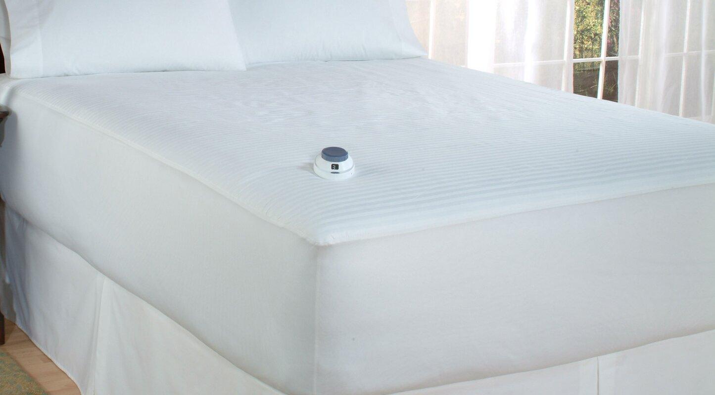 "perfect fit industries richter heat 0.5"" polyester heated mattress"