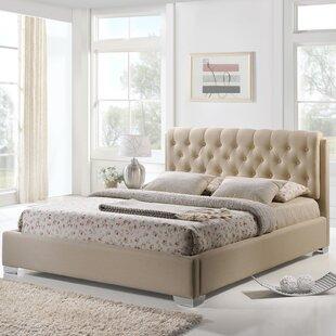 King Upholstered Platform Bed by Modway