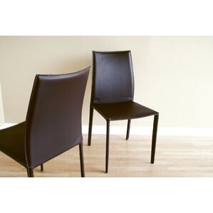 Miranda Upholstered Dining Chair (Set of 2) by Wade Logan