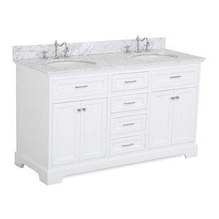 Deals Aria 60 Double Bathroom Vanity Set ByKitchen Bath Collection