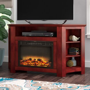 Cesar TV Stand with Fireplace by Red Barrel Studio