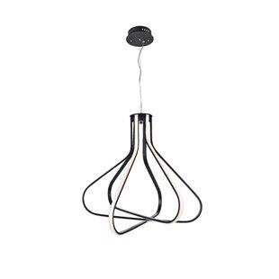 Goodin 3-Light LED Geometric Chandelier by Orren Ellis