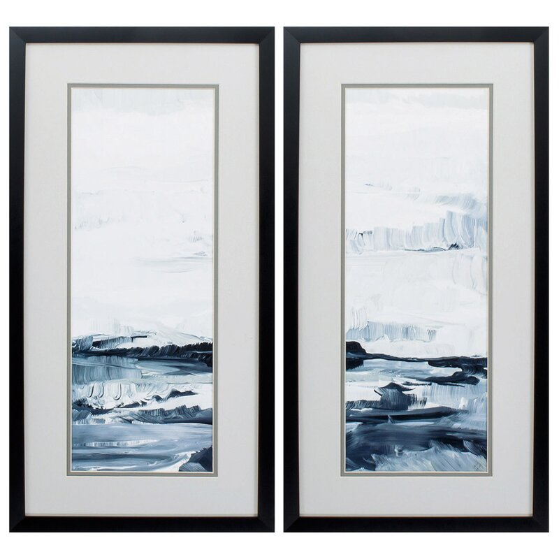 Bay Isle Home Freedom Of The Sea 2 Piece Picture Frame Graphic Art Print Set On Paper Wayfair