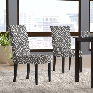 Kinkead Upholstered Dining Chair (Set of 2) Alcott Hill