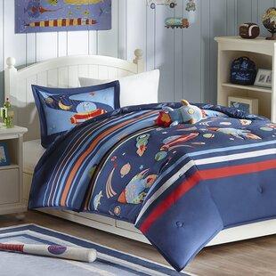kolton space cadet comforter set - Space Bedding