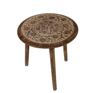 Bargain Idabel Antique End Table by Bungalow Rose