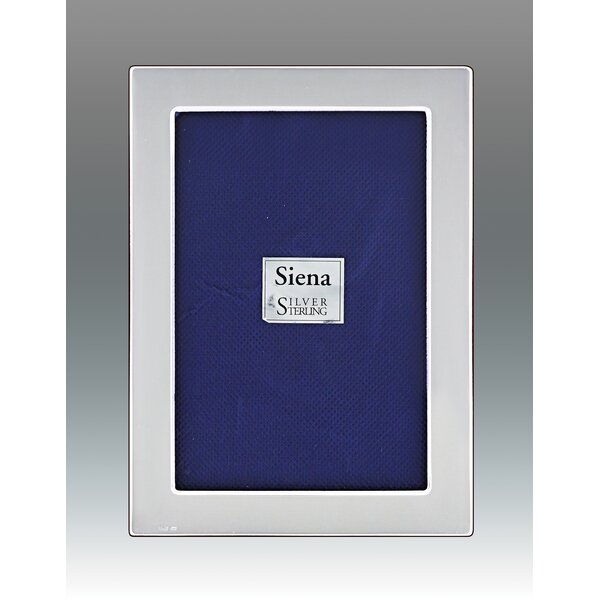 Tizo Flat Plain Sterling Silver Picture Frame Wayfair