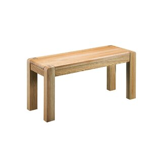 Cambridge Wood Bench By Natur Pur