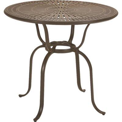 Banchetto Aluminum Bar Table by Tropitone Savings