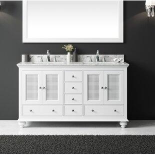 Larry 59 Double Bathroom Vanity Set ByDarby Home Co