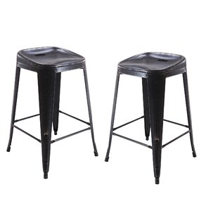 Vogue Furniture Direct Backless Metal 30