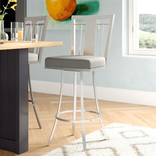 Norridge 26 Swivel Bar Stool Wrought Studio