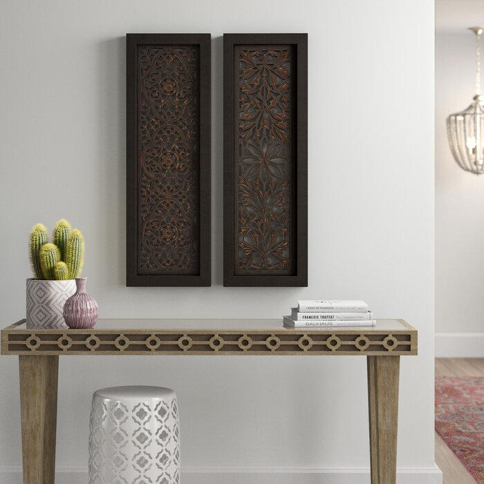 Beautiful Styled Wood Panel Wall Décor Set