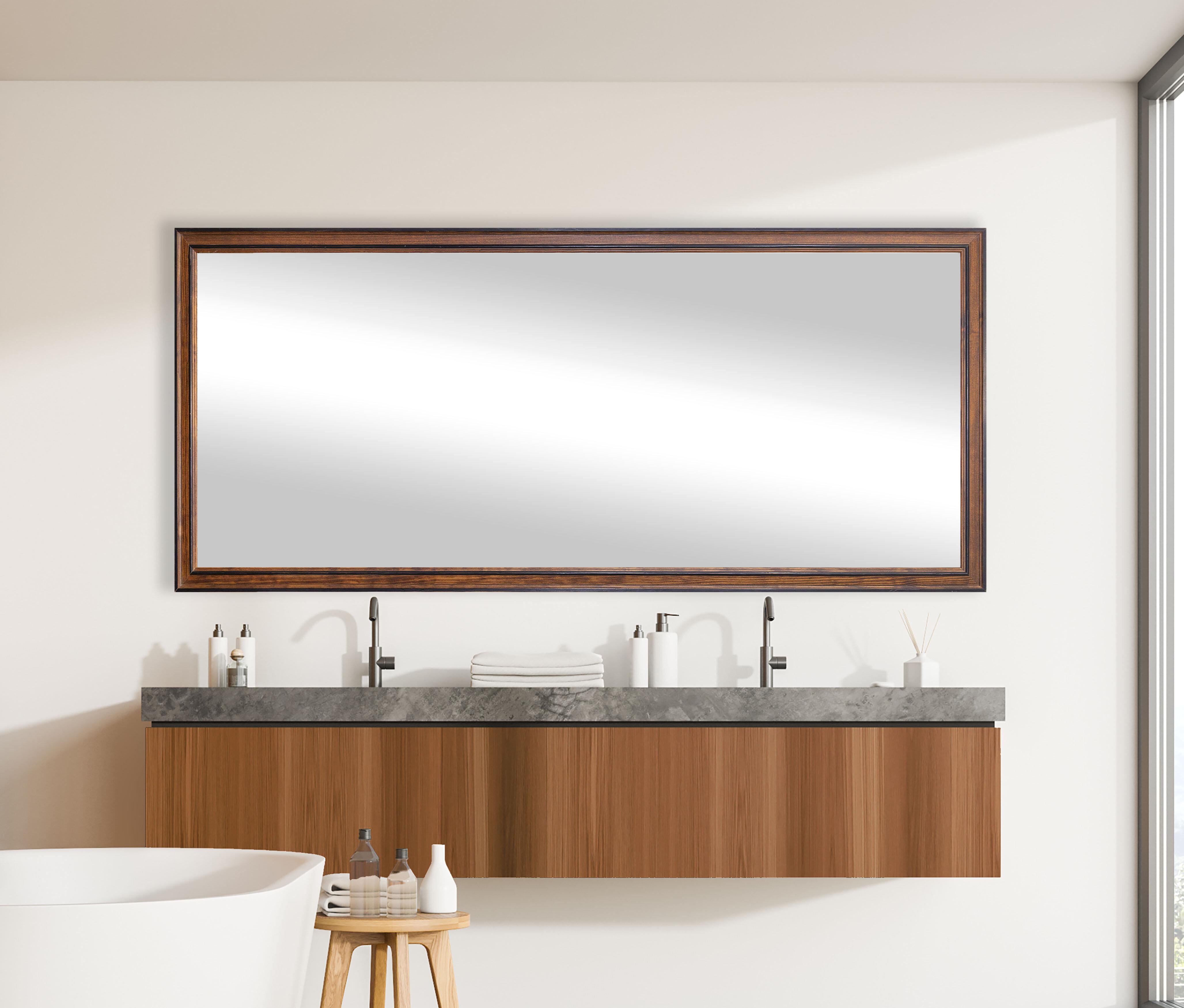 Charlton Home Joseph Rustic Full Length Mirror Reviews Wayfair
