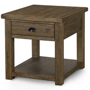 Senoia Rectangular End Table