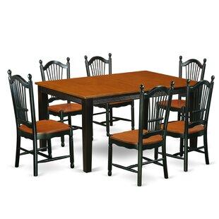 August Grove Pilger 7 Piece Dining Set