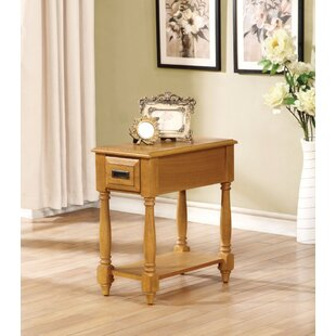 Hocker End Table with Storage ..