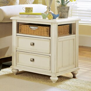 Tyrrell End Table With Storage by Breakwater Bay