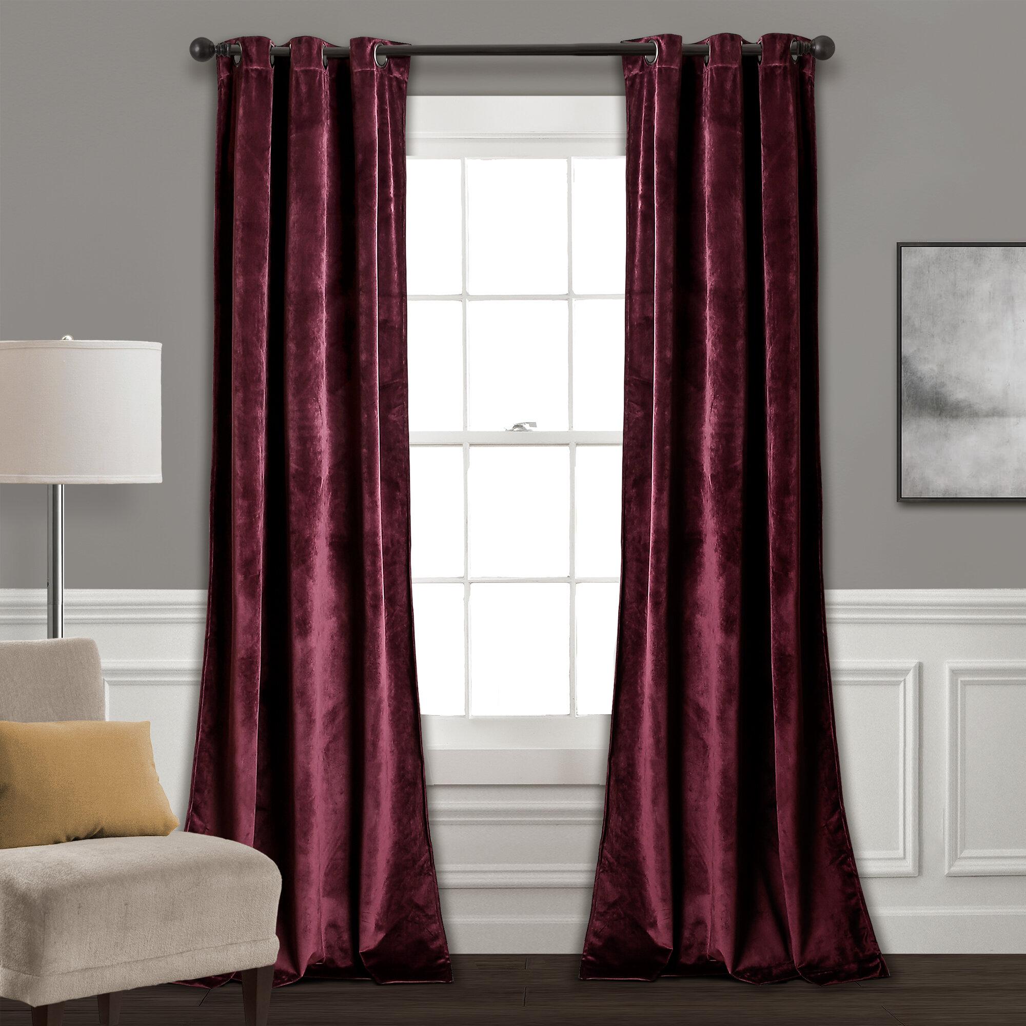 Belknap Solid Room Darkening Grommet Curtain Panels Reviews Joss Main